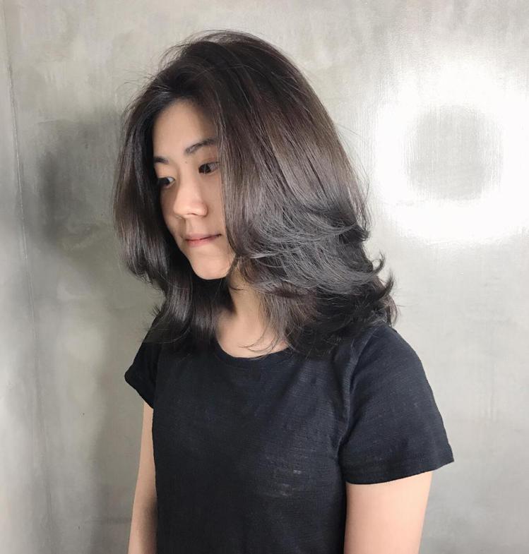 髮型創作/Elin Siao。圖/HairMap美髮地圖提供
