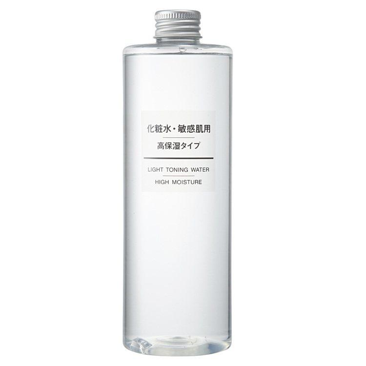 MUJI敏感肌化妝水(保濕型)400ml,500元。圖/無印良品提供