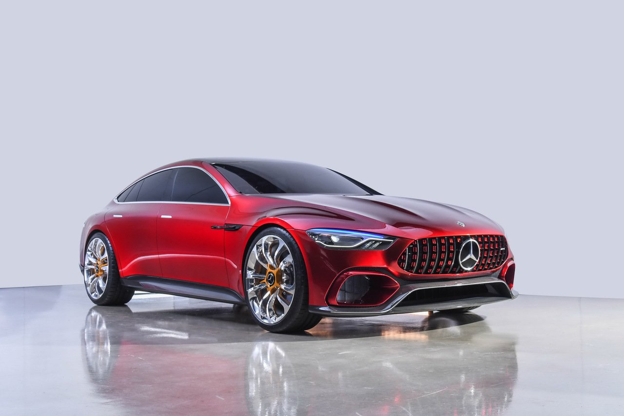 Mercedes-AMG GT Concept搭載源自F1科技的混和動力單元概念...