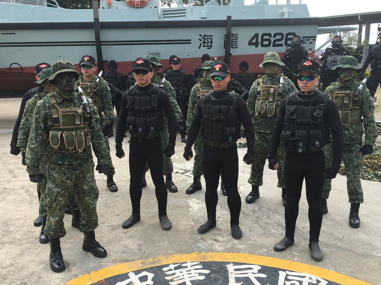國防報告書再度引發募兵制問題。本報資料照片 記者洪哲政/攝影