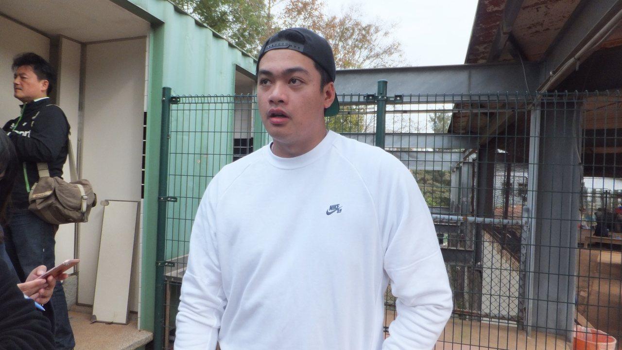 宋文華希望明年身體別出狀況,可以穩定出賽。記者藍宗標/攝影