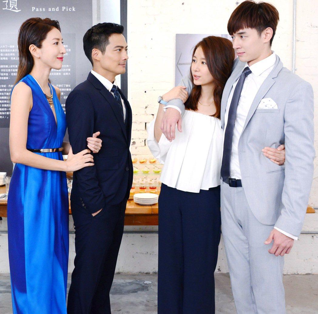 楊謹華(左)客串演出「我的男孩」。圖/八大提供