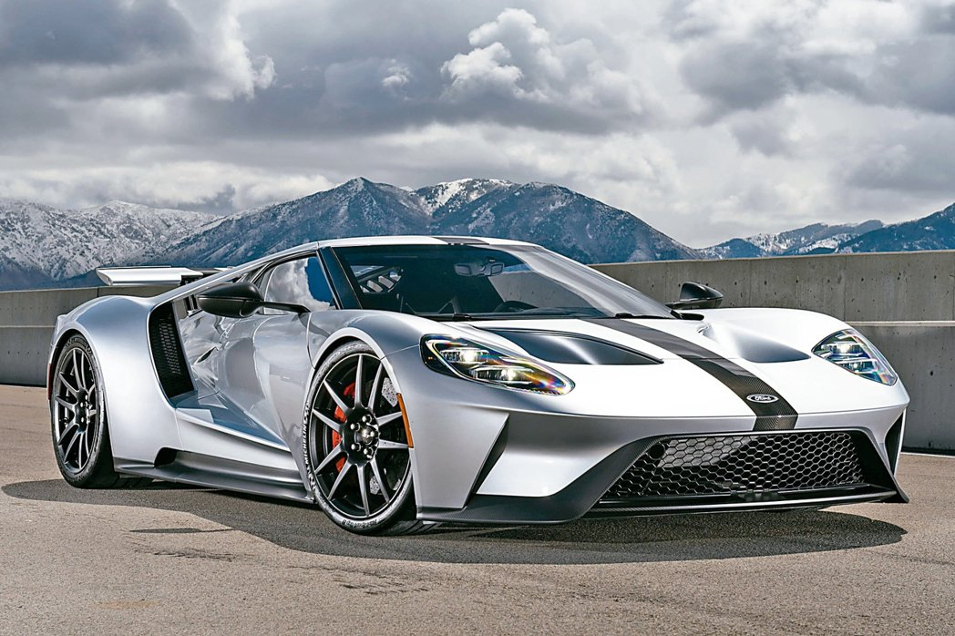 Ford GT超級跑車將現身2018世界新車大展,以極致賽道精神演繹「先進動力 ...