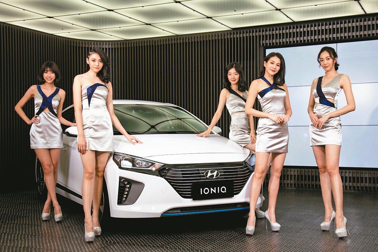 現代汽車在新車大展展出最新賽道概念街車及新世代全車系陣容。 圖/南陽實業提供