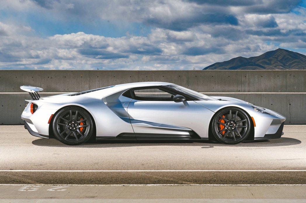 Ford GT將首次來台展出。 圖/福特提供