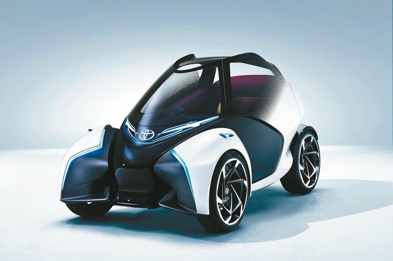 TOYOTA i-TRIL Concept是一台可以代表未來移動科技的先驅車款。...