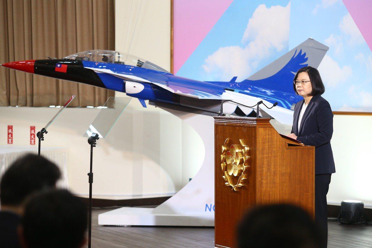 蔡英文總統今天在年終媒體茶敘發表談話。記者王騰毅/攝影