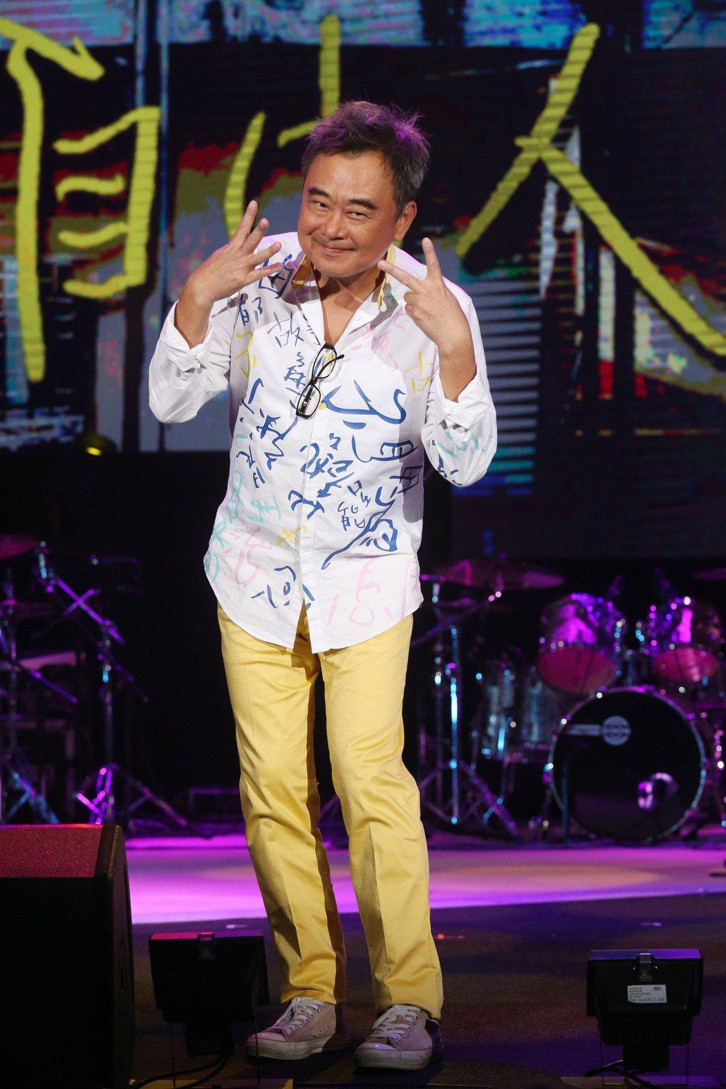 陳昇創紀錄連續24年舉辦跨年演唱會「說故事的自由人」彩排,明年滿60歲,他心態仍...