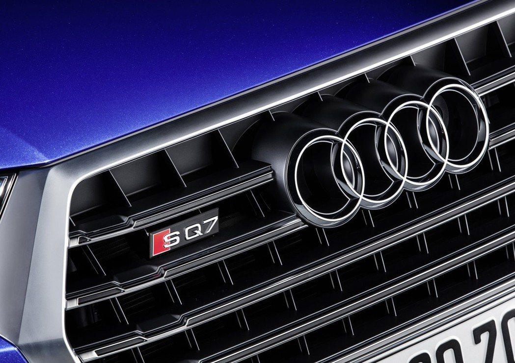 全新Audi SQ7。 圖/台灣奧迪提供