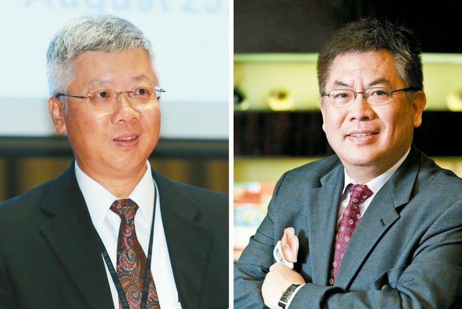 台新金控、銀行總經理將分別由林維俊(左)、尚瑞強(右)出掌。 報系資料照
