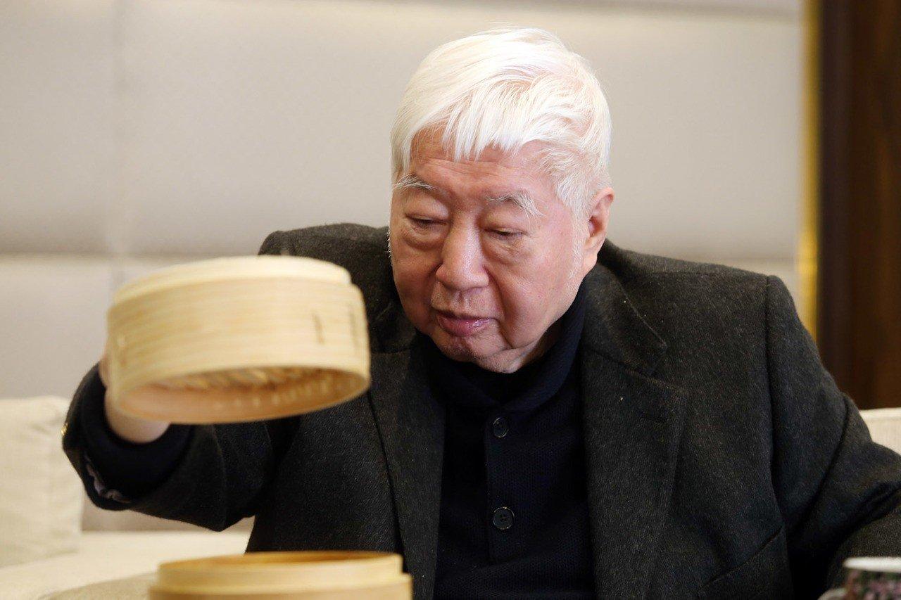 南僑會長陳飛龍。 聯合報系資料照/記者邱德祥攝影