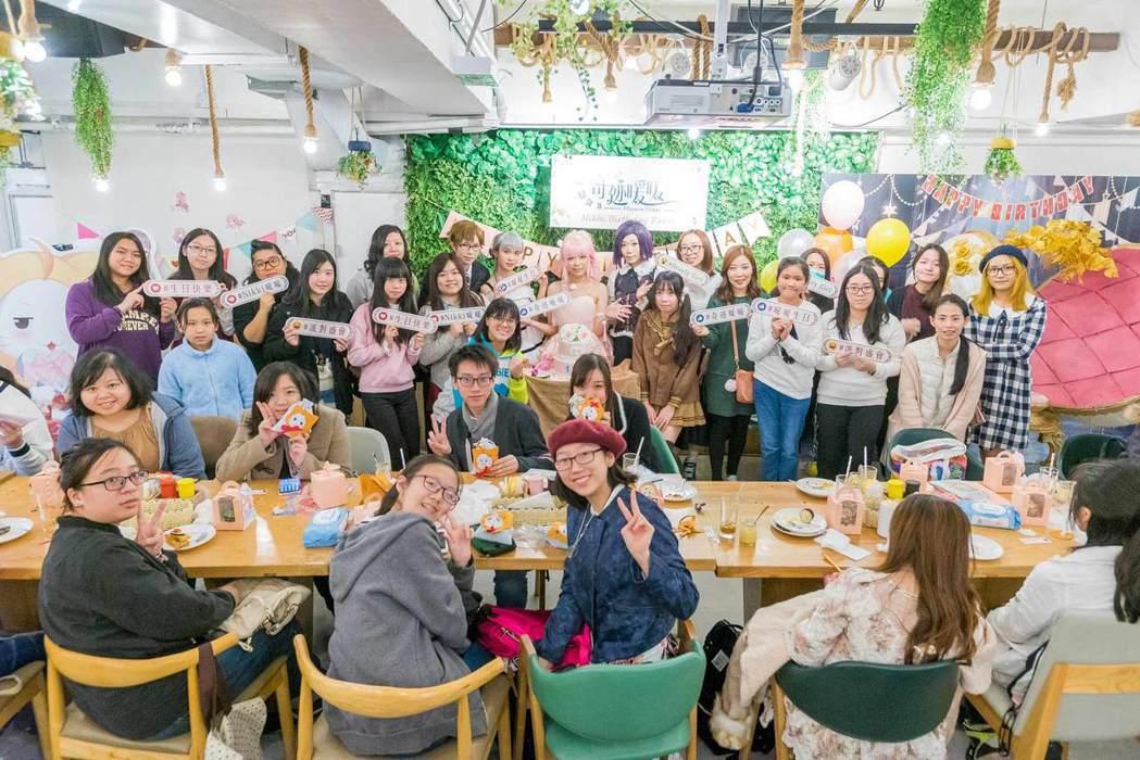 《奇迹暖暖》香港場生日派對。