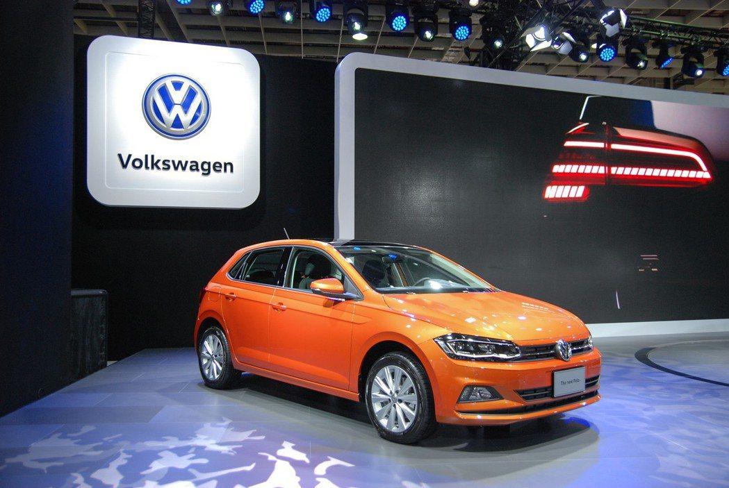 全新第六代 The New Polo 小型掀背車即日展開預售。 記者林鼎智/攝影