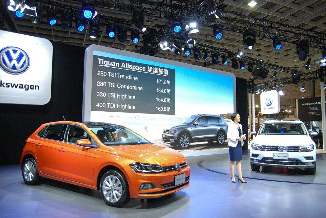 Tiguan Allspace 七人座休旅建議售價分別為:280TSI Trendline(121.8萬)、280TSI Comfortline(134.8萬)、330TSI Hightline(154.8萬) 以及柴油車型 400TDI Hightline(160.8萬)。 記者林鼎智/攝影