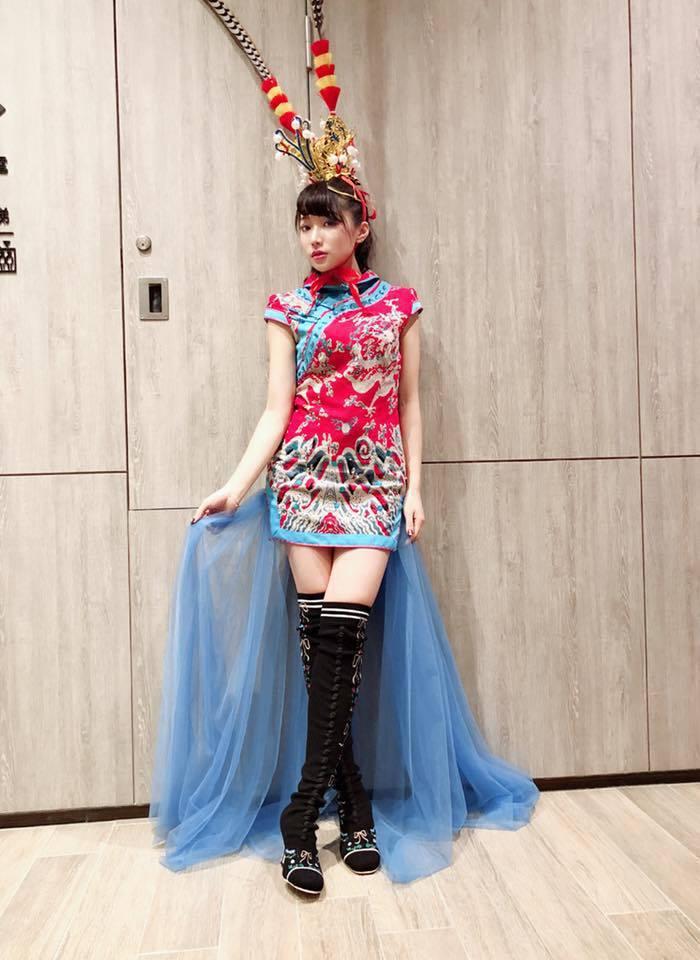 納豆女友依依。 圖/擷自臉書。