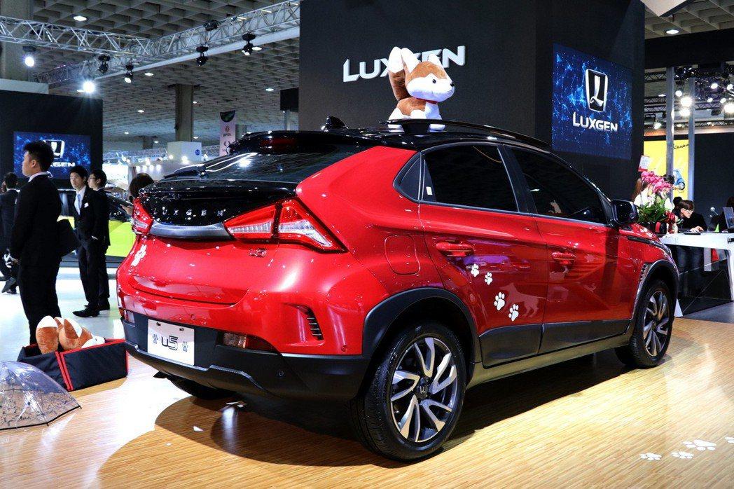 LUXGEN特別開發專為毛小孩設計的U5 BTO客製化車款。 記者陳威任/攝影