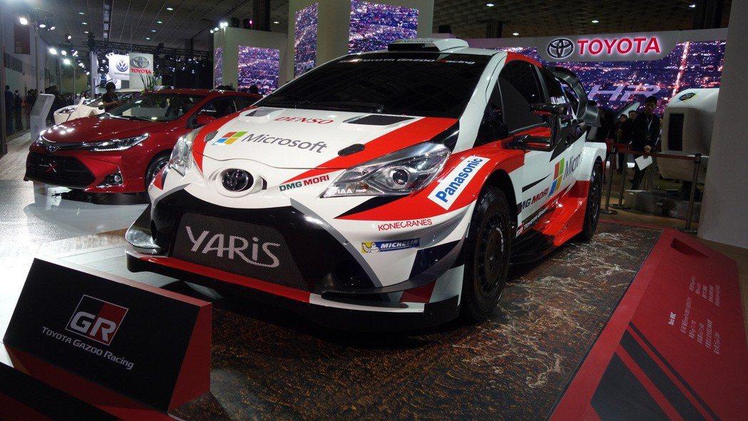 Yaris WRC以歐規三門Yaris為本,馬力/扭力為380ps/43.3kg...