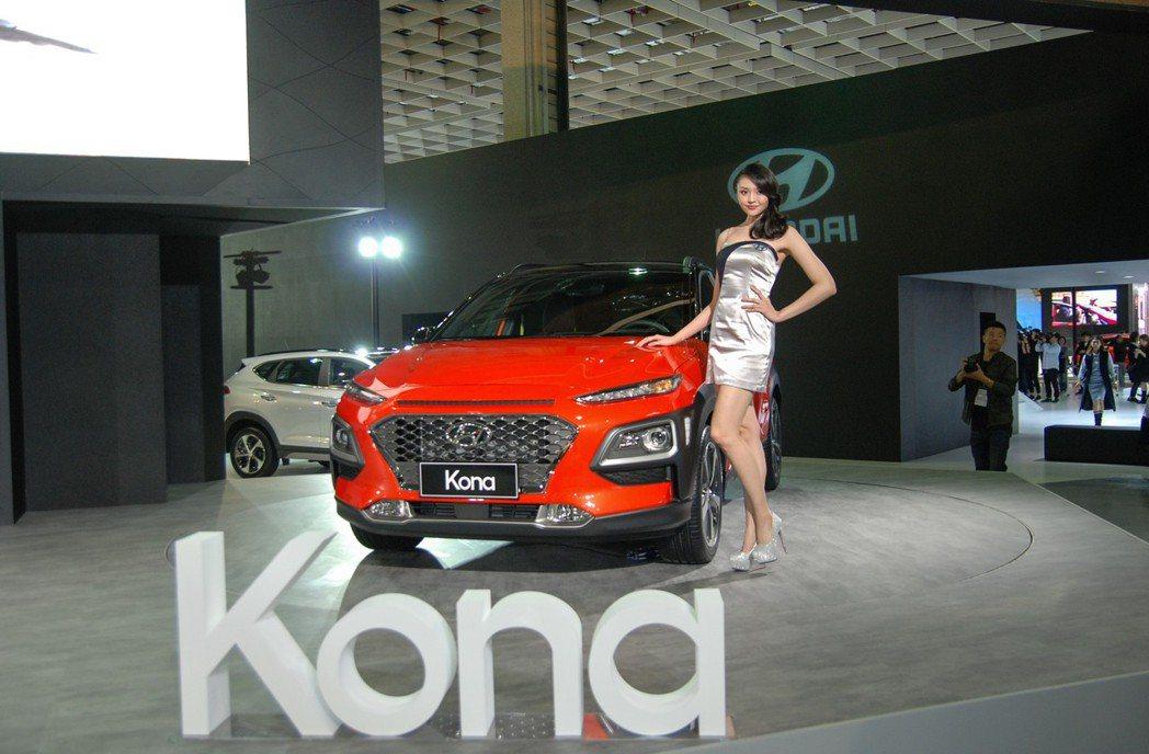 目前僅可確定 Kona 將以國產化的身份於明年第三季上市。 記者林鼎智/攝影