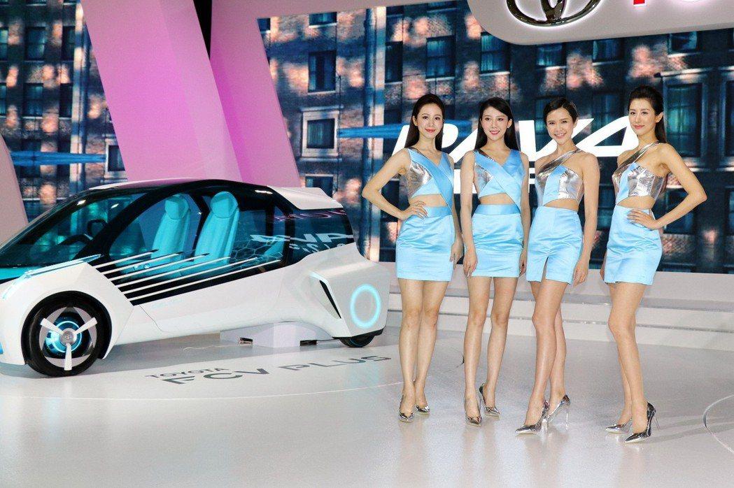 TOYOTA總代理和泰汽車將於2020世界新車大展中,展出品牌最新概念車。圖為2...