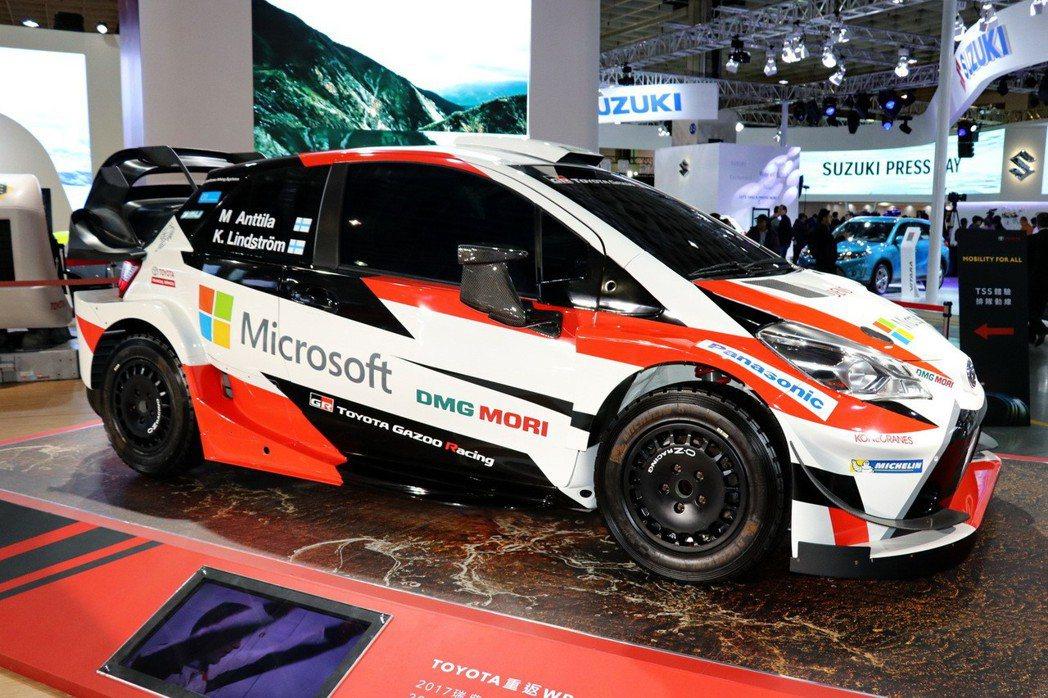 YARIS WRC。 記者陳威任/攝影