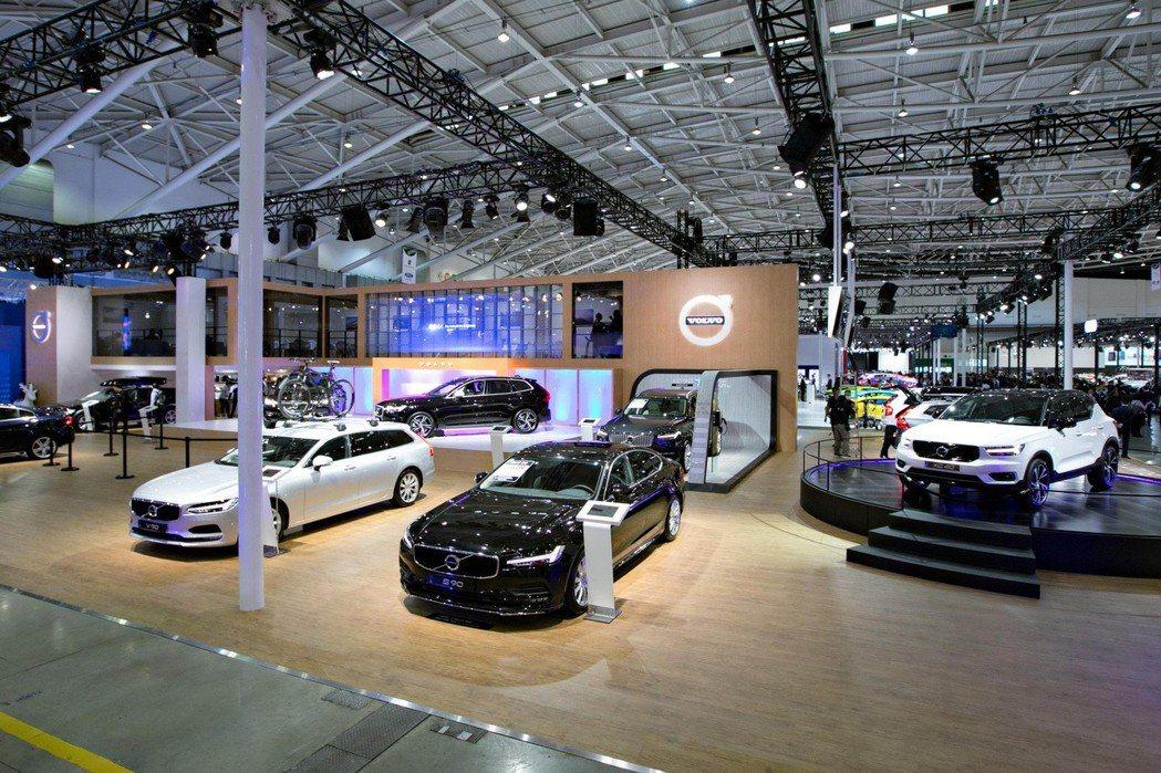 VOLVO將持續在車展帶來獨特的北歐風情。 圖/VOLVO提供
