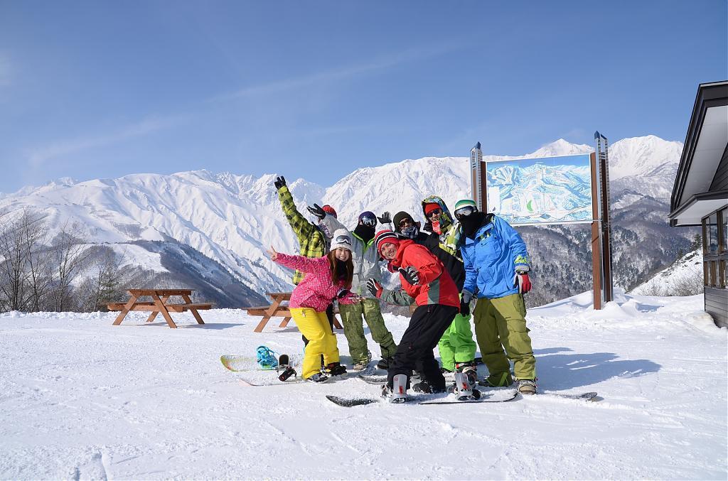 ▲長野白馬村滑雪場(圖/Tripbaa趣吧!達人帶路)