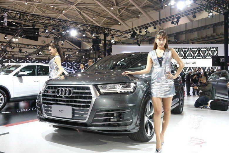 全新Audi SQ7 TDI。 史榮恩