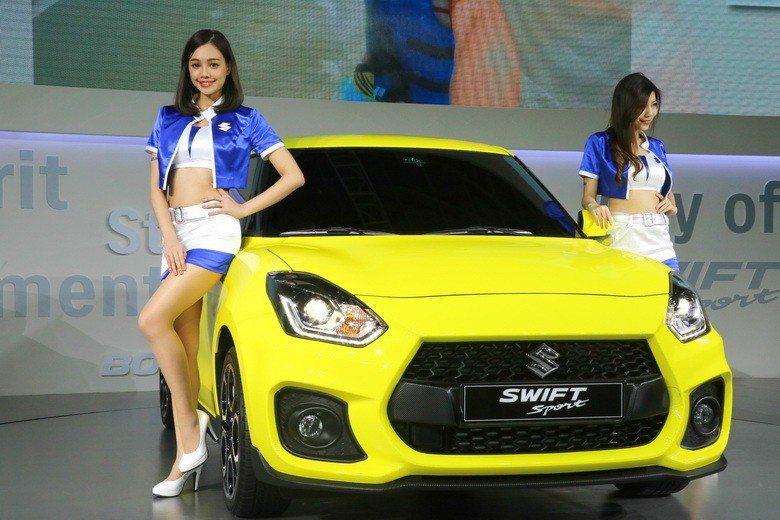 SUZUKI新一代SWIFT Sport。 史榮恩