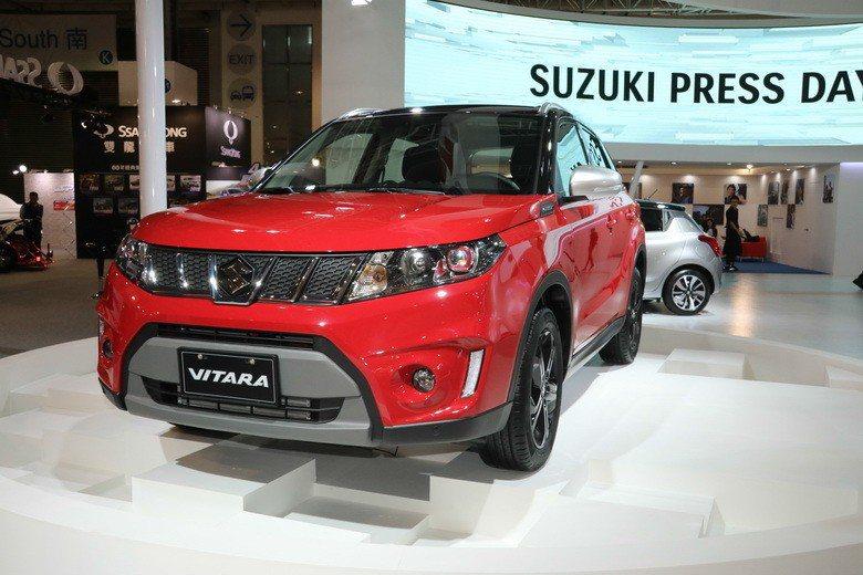 SUZUKI展區以現售車款為主。 史榮恩