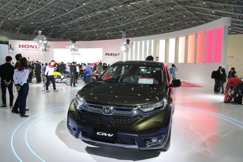 Honda Taiwan於台北車展盛大展出。 史榮恩