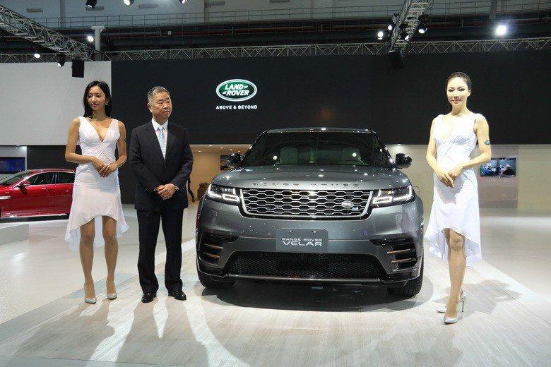 New Range Rover Velar。 史榮恩