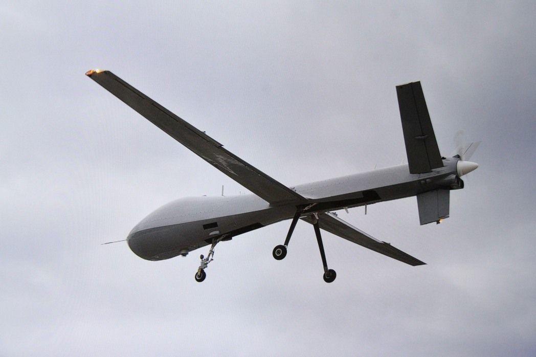 中科院騰雲大型無人機。翻攝中科院影片