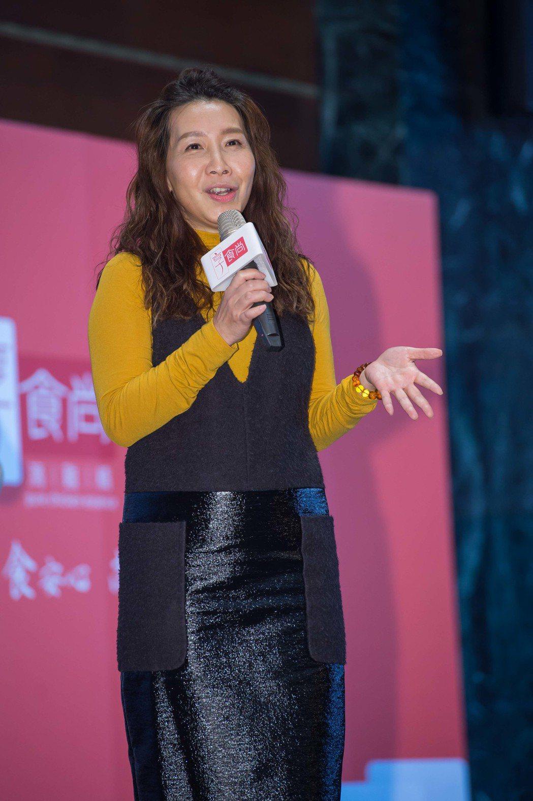 朱蓓苓來自民視,如今在TVBS開賣雞精。圖/TVBS提供