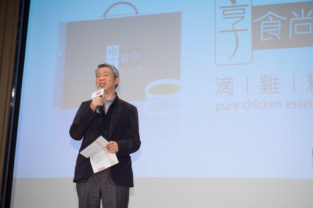 董事長張孝威未來全力發展電商,也創下TVBS開始賣產品的先例。圖/TVBS提供