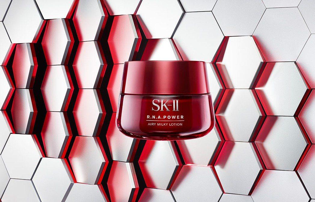 SK-II R.N.A.超肌能緊緻活膚霜輕盈版主視覺。圖/SK-II提供