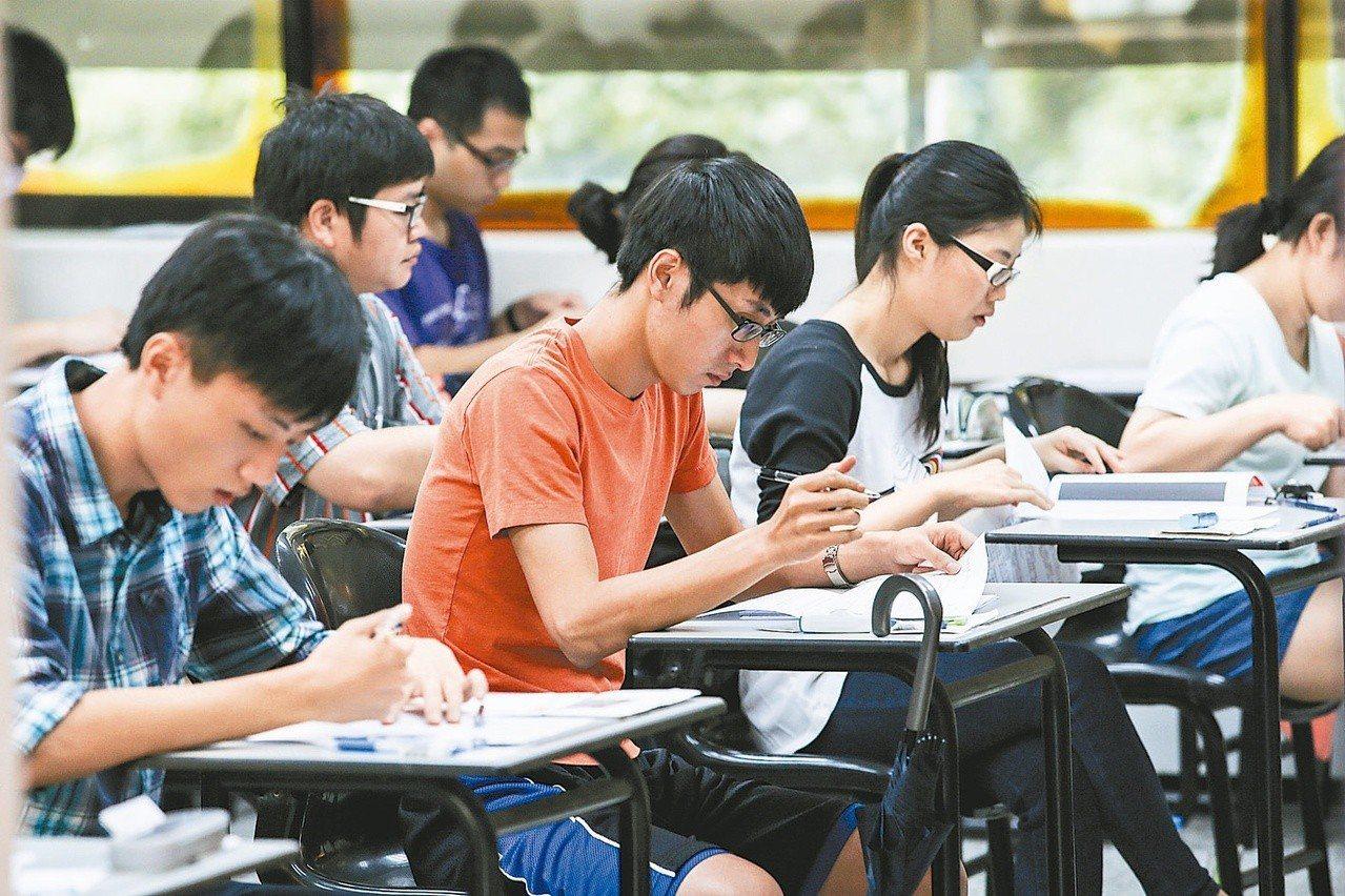 考試院日前通過初等考試增列名額,總計需用名額達356名。 圖/聯合報系資料照片