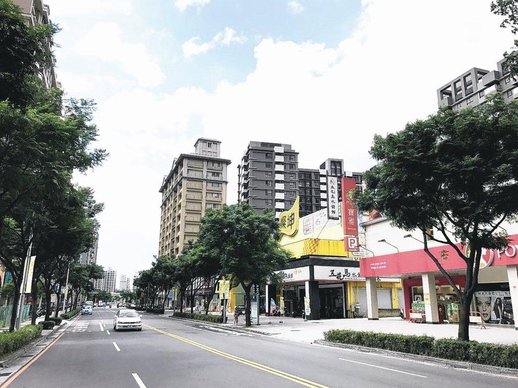 淡海新市鎮。 報系資料照