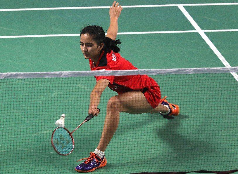 印度選手菈吉(Rasika Raje)。 歐新社