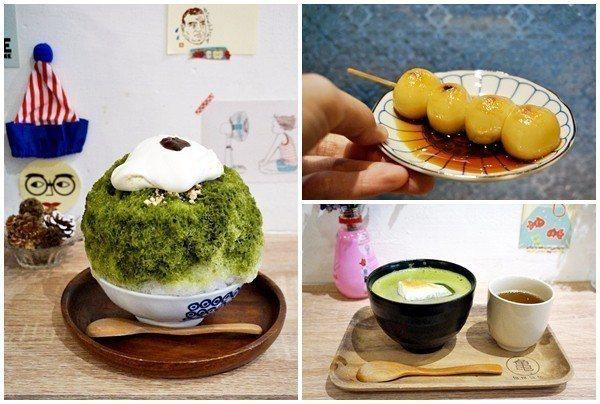 阿莊堅持親手製作所有的用料。抹茶類的甜品最受人愛戴。(攝影/林郁姍)
