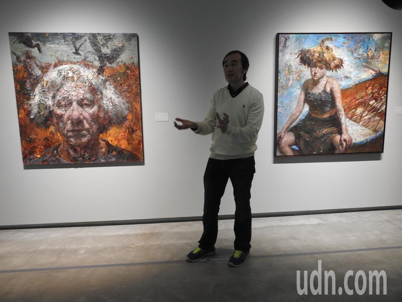 草屯鎮毓繡美術館以《漸失的夢:王勝個展》做明年首檔展覽,展區以「向日葵」主題貫穿...