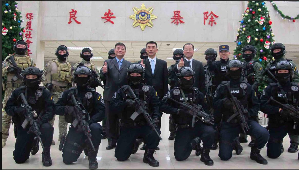 刑事局除暴特勤隊剛成立,隊員就到賭場賭博。圖/翻攝自刑事局官網