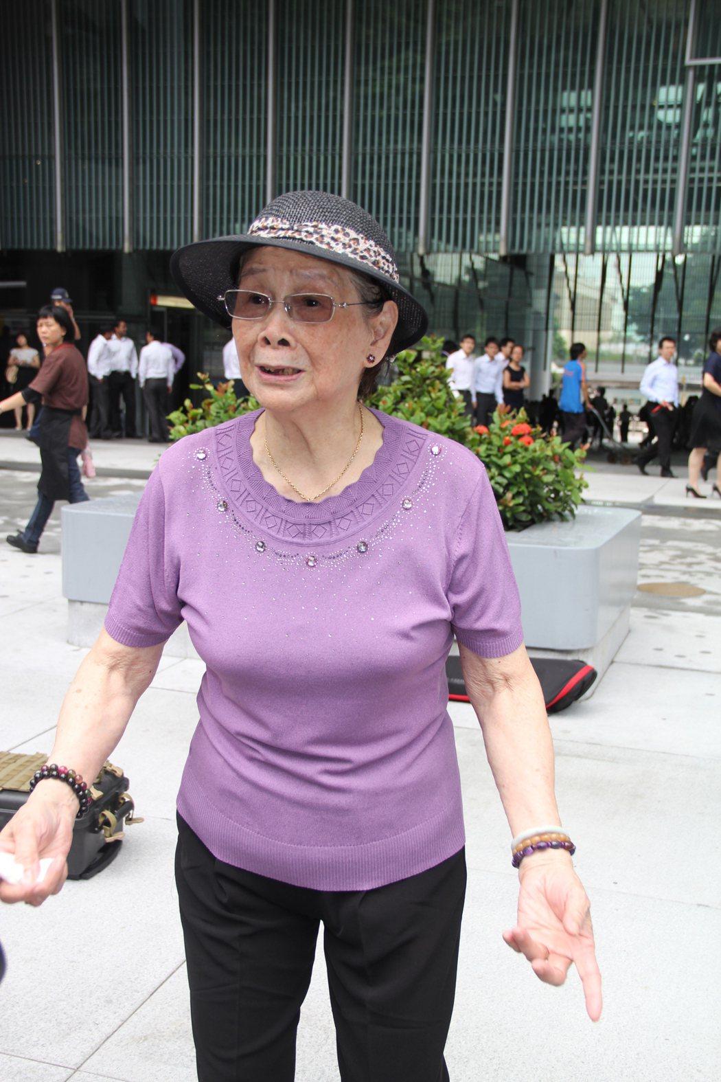 梅艷芳的母親曾經為了遺產分配打官司。圖/達志影像