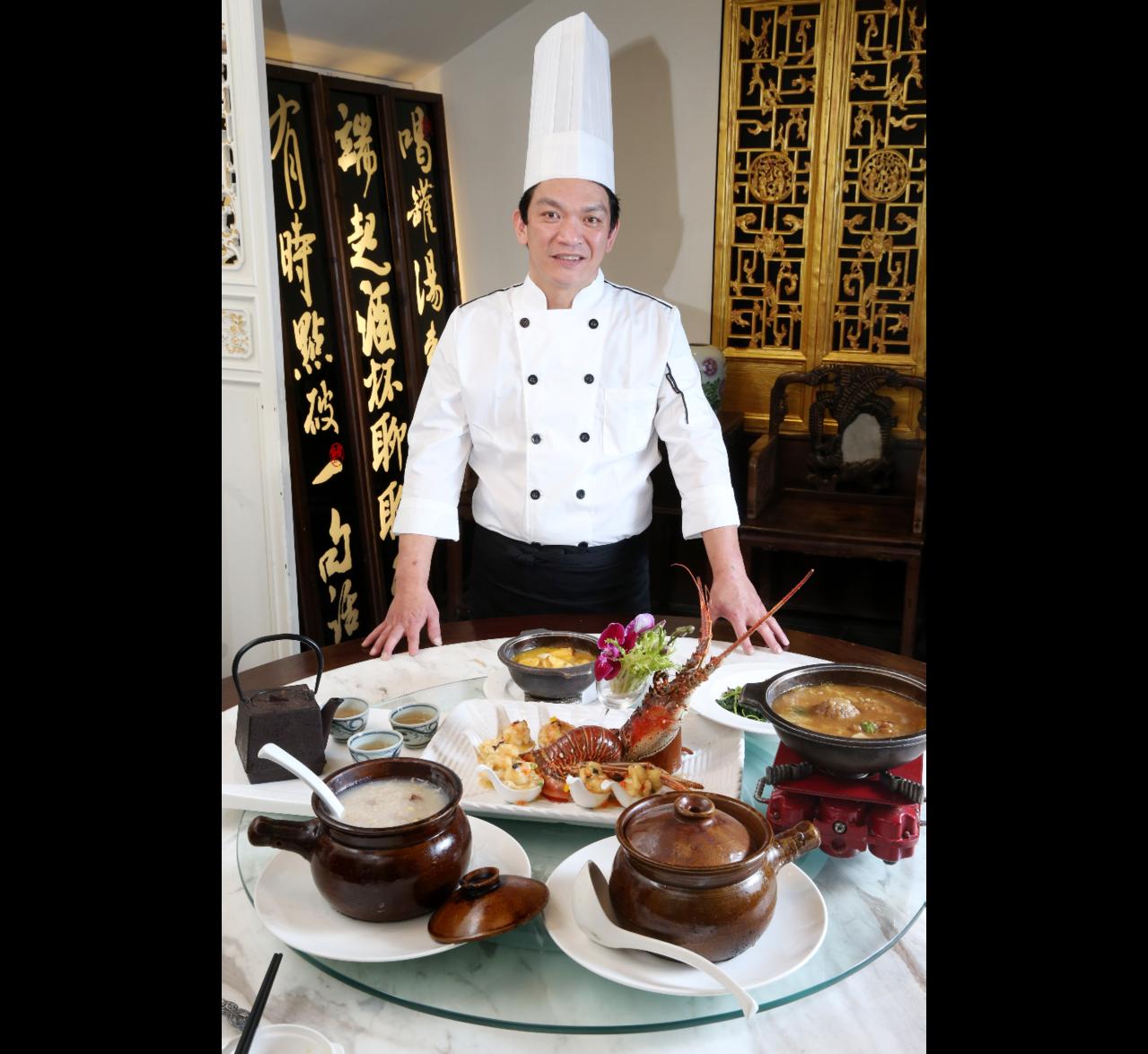 曾任五星級飯店的Allen主廚,在烹煮方面講究保留食材的原味。記者邱德祥/攝影