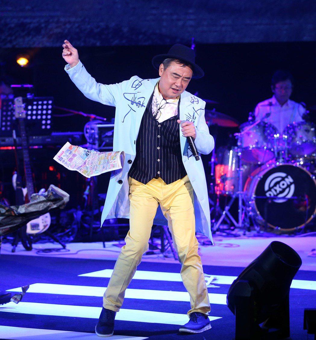 陳昇舉辦第24個跨年「說故事的自由人」演唱會。圖/記者陳瑞源攝