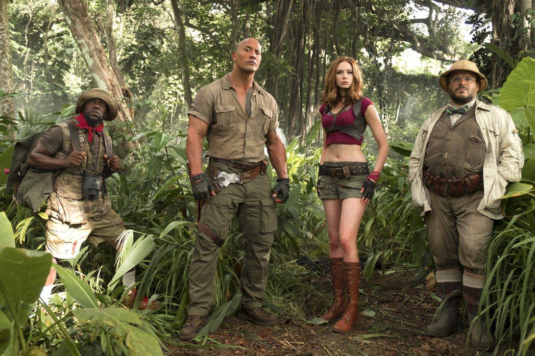 「野蠻遊戲:瘋狂叢林」叫好又叫座。索尼提供