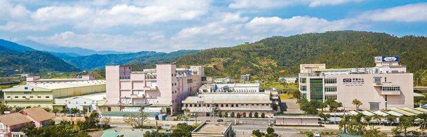 杏輝擁有40年歷史,圖為宜蘭總部全廠景。 杏輝/提供