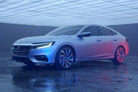 Honda Insight全新樣貌露出 底特律車展正式公布