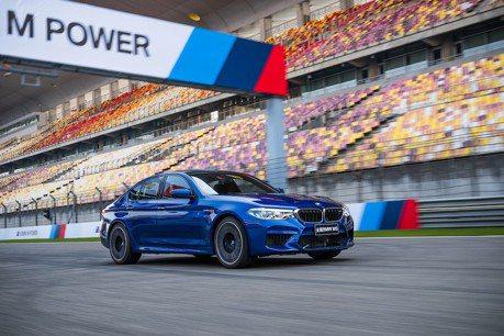 全新BMW M5一上賽道就破紀錄 果然硬底子功夫