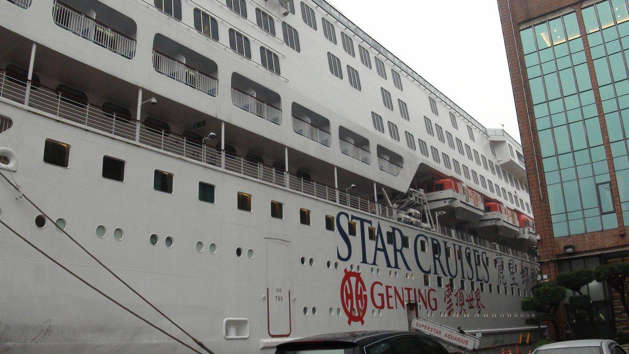 台灣郵輪旅客破百萬,麗星郵輪寶瓶星號也精心策劃跨年航程。 記者楊文琪/攝影