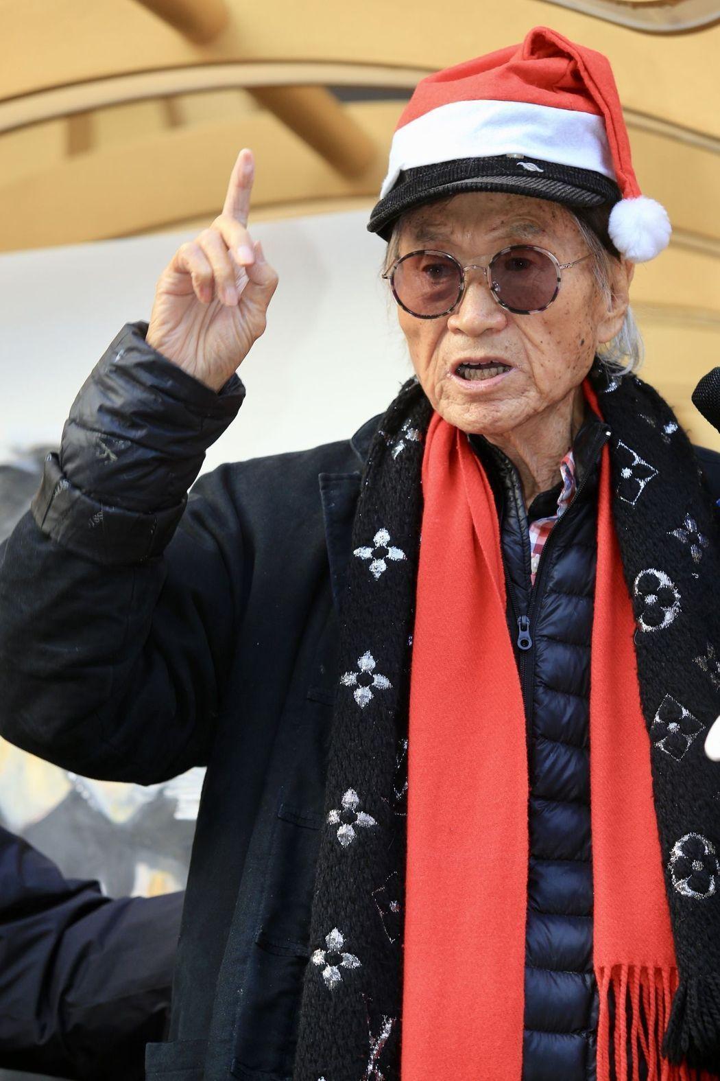 前體育主播傅達仁致力催生台灣安樂死合法化。 報系資料照/記者林伯東攝影